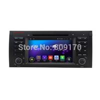 achat en gros de x5 canbus-Android 4.4.4 Radio DVD de voiture GPS pour BMW E39 E53 X5 M5 528 528i 530 530d 540 540i + Canbus, carte 8G gratuite