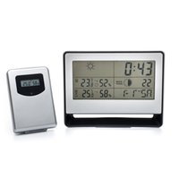 Cheap Digital weather station Best Household Plastic weather station wireless