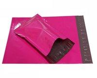 Al por mayor-Tamaño: 160 * 220 mm, anuncios publicitarios de burbuja de polietileno con relleno, anuncios publicitarios poli envío de sobres bolsas, sobres de color rosa 17 para los recién nacidos