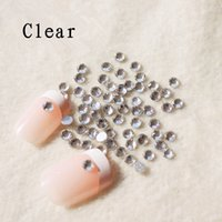 Wholesale ails Tools Rhinestones Decorations Lowest Price pack SS3 mm Crystal AB Clear AB Rhinestones For Nail Art Glue On Non Hot