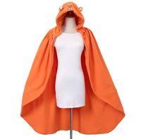 air tv cosplay - Sankaku Head Himouto Umaru chan Umaru Doma Cosplay Costumes MARMOT Air Conditioning Blanket Orange cute Cloak Cape Anime cartoon