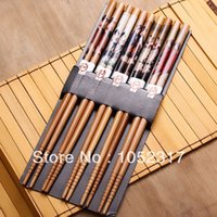 ancient china paintings - Pairs set Pairs Bamboo Cutlery Ancient China beautiful women beauty oil painting chinoiserie chopsticks