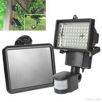 outdoor led security light - Solar Panel LED Flood Security Garden Light PIR Motion Sensor LEDs Path Wall Lamps Outdoor Emergency Lamp LEG_845