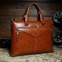 Wholesale 2015 Mens casual briefcase business Shoulder bags POLO Men messenger bags Tote Designer Computer Laptop Handbag Bag Men Leather