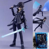 anime products online - Hot CM Anime Sword Art Online kirigaya kazuto Sao PVC Action Figure Collectible Model Toy