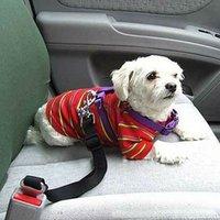 Wholesale 1 Pet Dog products Colour Adjustable Car Safety Seat Belt Seatbelt Pet Cat Dog carriers belt