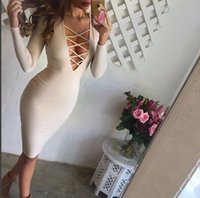 Wholesale 2015 a11c chest bandage package hip dress sexy color