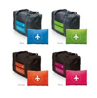 Wholesale Waterproof Folding Packing Travel Duffel Bag Clothes Organizer Storage Bag Large Capacity Lightweight Multi function Luggage Handbag