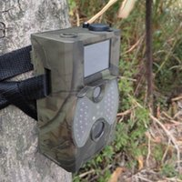 Wholesale 940NM Hunting Camera Trap HD inch Digital Scouting Camera Chasse Caza IR LED Infrared Trail Camera Set HC300A Y0515