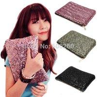 Wholesale Dazzling Glitter Sparkling Bling Sequins Handbag Clutch Evening Party Bag New