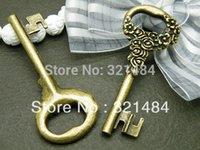 Wholesale Free ship piece x25mm Antique bronze Alloy Metal Key Charms Pendant