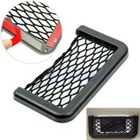 Wholesale New Black Car Auto String Mesh Bag Storage Pouch For Cellphone Gadget Cigarette