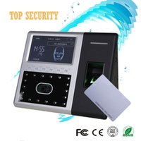 Wholesale Face Fingerprint RFID card time attendance and access control inch color touch screen double camera TCP IP communication