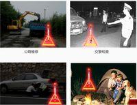 Wholesale Latest product safety warning signs safety warning lights triangle frame flashing lights flashlight