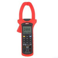 Wholesale UNI T UT233 Three Phase True RMS Digital Power Clamp Meters Auto Range w Positive Reverse Phase Deficiency Phase Sequence Test