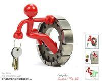 Wholesale The Magnetic climbing Man Key Holder key pete Keychain Magnetic Climbing Man Key Holder