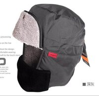 Wholesale For Men and women winter Cap Bomber Hats ear warmer SANTO for ski hunting fishing outdoor sporting