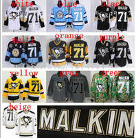 authentic malkin jersey - Cheap Pittsburgh Penguins Evgeni Malkin Team Classic Jersey Black Authentic Embroidery Stitched Jerseys