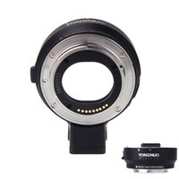 Wholesale YONGNUO Auto focus EF Lens Mount Adapter EF M Intelligent Focus System for Canon EOS M Mount Camera