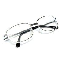 Wholesale Unisex Light Resin Metal Frame Reading Glasses order lt no track