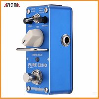 ape digital - AROMA APE Pure Echo Digital Delay Electric Guitar Effect Pedal Mini Single Effect with True Bypass