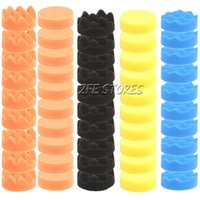 Wholesale 50Pcs mm Inch High Gross Polishing Buffing Pad Kit for Car Polisher New