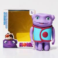 alien money - 14cm crazy alien toys Movie Home oh boov doll Piggy Bank save money Baby children s birthday present