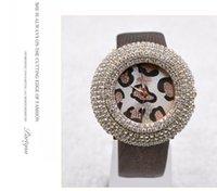 Wholesale Korean fashion Leopard student watches luxury watches vintage diamond ladies watches quartz girl women watch