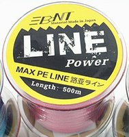 Wholesale BNT Upgrade Braided M fishing line pesca Strong Japan Multifilament PE Braided Fishing Line10 LB LB