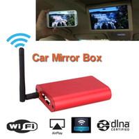Wholesale Allshare Cast Screen Mirroring Car Standard Wi Fi Airplay Display Miracast Car Audio Video Mirrorlink Mirror Box media Dongle