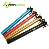 Wholesale ROCKBROS Special Folding Bike Bicycle Alloy T6 CNC Parts Cycling Seatpost Seat Post mm mm Color