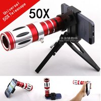 Wholesale Hotsales moblie phone universal x Telescope Lens with clip For iphone s s plus Samsung note S4 S5 Htc Nokia