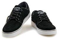 Wholesale Stefan Janoski Top Quality Swoosh Free Sport Walking Men Shoes Black size