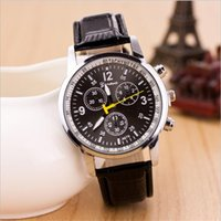 geneva watches - Fashion Geneva Watch Ladies watches Luxury Crocodile Faux Leather Men Analog Roman Numerals Watch Women Festina Watches