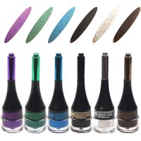 Wholesale Gel Eyeliner Fast Dry Long Lasting Metallic Color Gel Eye Liner Cream Waterproof and Smudge proof
