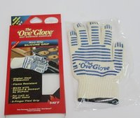 amazing surfaces - The Ove Glove Hot Surface Handle Amazing Ove Gloves for kitchen microwave barbecue steel mills with Retail Packaging
