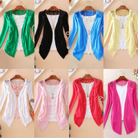 Wholesale Hot Sale Lace Back Candy Colors Knit Cardigan Sweater Hollow Back Woman Long sleeved Sweaters