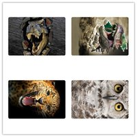 animal printed rugs - Fashion D Animal Printing Doormats for Living Room Dinosaur Floor Mats Anti skid Bathroom Carpets Rugs Zoo Owl Mats in Kitchen