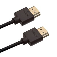 Wholesale 300pcs Ultra Slim High Speed HDMI Cable m m m Gold plated HDMI to HDMI supports Ethernet Latest a Version Gbps