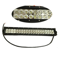Wholesale 24 Inch W LED Working Light Bar for Off Road Indicators Work Driving Offroad Boat Car Truck x4 SUV ATV External Lights V