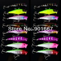 hard plastic fishing lures - 2013 Hot selling Popper Lure color cm g top water magician Popper hard bait plastic fishing lure freeshipping