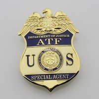 atf badges - THE UNITED STATES US ATF metal Badge Brass