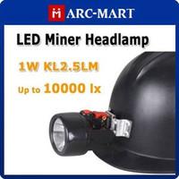 mining cap lamp - 1W KL2 LM B LED Miners Headlamp Mining Lighting Cap Lamp Up to Lx HK365