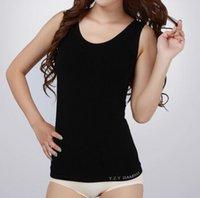 bamboo singlets - Hot Seamless Women Singlets Bamboo Fiber Camisole Women Good Quality Undershirt Blusas Crop Top Lingerie