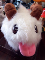 legal highs - for EMS Legal Edition LOL High quality lol Poro Big size cm Plush dolls Chirstmas gift