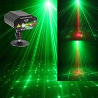 Wholesale SUNY Lens Patterns RG Laser Light BLUE LED Stage DJ show Lighting S18