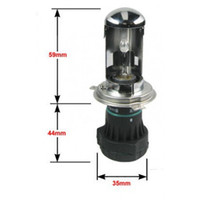 automotive bulbs - 2X Bi Xenon W H4 V DC HID Automotive Headlight Replacement Bulbs H4 BiXenon Hi Lo Beam Lamp K