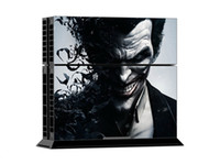 Cheap Very Cool Joker PS4 Vinyl Decal PS4 Skin Sticker 1 Console Skin & 2 Controller Skin Stickers For PS4