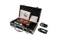 Wholesale Ultrasonic thickness gauge GM130 mm m s digital thickness gauge Micrometer LCD backlight with carry box