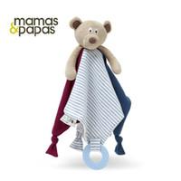 0-12M baby blankie - baby toys Infant Reassure Towel newborn teether towel bear blankie newborn gift appease towel baby educational plush toy
